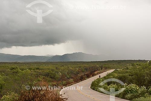 Formação de tempestade na Rodovia RN-118  - São Rafael - Rio Grande do Norte (RN) - Brasil