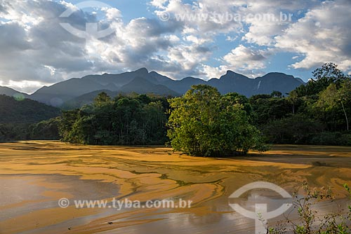 Vista geral de lago na Reserva Ecológica de Guapiaçu  - Cachoeiras de Macacu - Rio de Janeiro (RJ) - Brasil