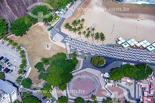 Foto aérea da Praça Almirante Julio de Noronha  - Rio de Janeiro - Rio de Janeiro (RJ) - Brasil