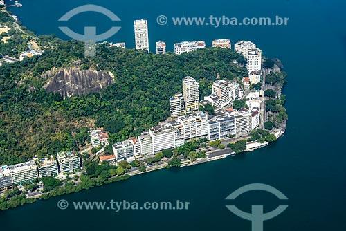 Foto aérea do Morro do Sacopã  - Rio de Janeiro - Rio de Janeiro (RJ) - Brasil