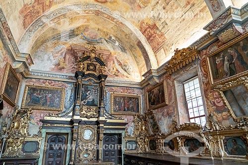 Interior da sacristia da Catedral da Sé do Porto (Igreja de Nossa Senhora da Assunção) - 1737  - Porto - Distrito do Porto - Portugal