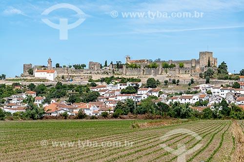 Vista do geral do Castelo de Montemor-o-Velho (1088)  - Concelho de Guimarães - Distrito de Braga - Portugal