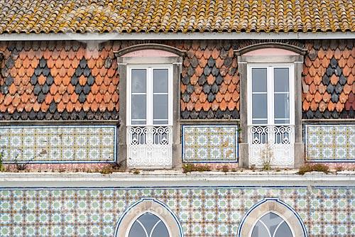 Detalhe de casario no Concelho de Sintra  - Concelho de Sintra - Distrito de Lisboa - Portugal