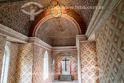 Capela Palatina no interior do Palácio Nacional de Sintra  - Concelho de Sintra - Distrito de Lisboa - Portugal