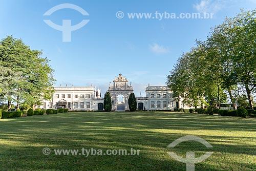 Vista geral do Palácio de Seteais (século XVIII) - atualmente pertence à Tivoli Hotels & Resorts  - Concelho de Sintra - Distrito de Lisboa - Portugal
