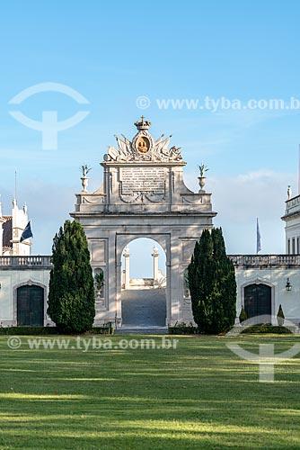 Pórtico do Palácio de Seteais (século XVIII) - atualmente pertence à Tivoli Hotels & Resorts  - Concelho de Sintra - Distrito de Lisboa - Portugal