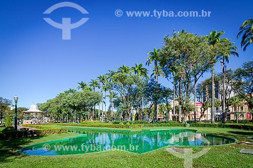 Lago artificial na Praça da Liberdade  - Belo Horizonte - Minas Gerais (MG) - Brasil