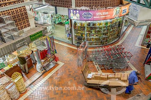 Interior do Mercado Central de Belo Horizonte (1929)  - Belo Horizonte - Minas Gerais (MG) - Brasil