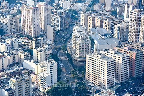 Foto aérea da Avenida Maracanã com o Shopping Tijuca  - Rio de Janeiro - Rio de Janeiro (RJ) - Brasil