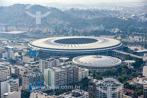 Foto aérea do Complexo Esportivo do Maracanã  - Rio de Janeiro - Rio de Janeiro (RJ) - Brasil