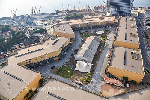 Foto aérea da Cidade do Samba Joãozinho Trinta (2006)  - Rio de Janeiro - Rio de Janeiro (RJ) - Brasil
