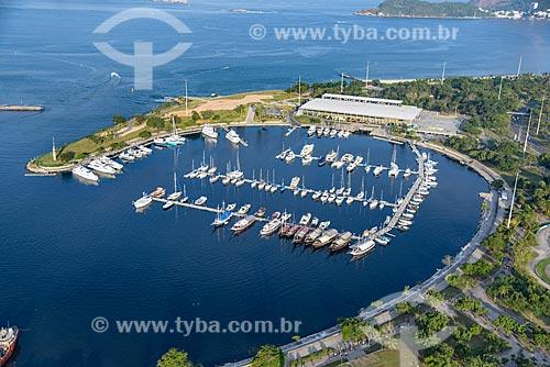 Foto aérea da Marina da Glória  - Rio de Janeiro - Rio de Janeiro (RJ) - Brasil