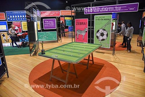 Exposição Na área - Museu do Futebol - no Centro Cultural Banco do Brasil (1906)  - Rio de Janeiro - Rio de Janeiro (RJ) - Brasil