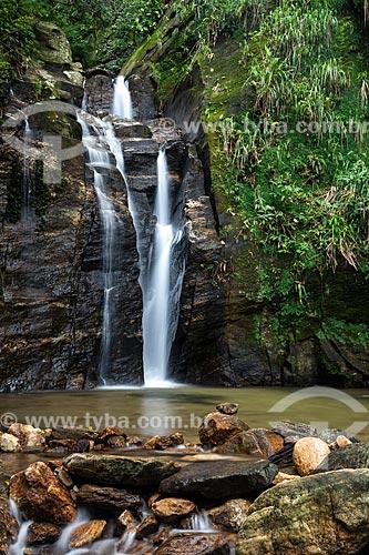 Cachoeira do Chuveiro no Horto - Parque Nacional da Tijuca  - Rio de Janeiro - Rio de Janeiro (RJ) - Brasil