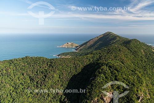 Foto aérea da Pedra da Tartaruga  - Rio de Janeiro - Rio de Janeiro (RJ) - Brasil