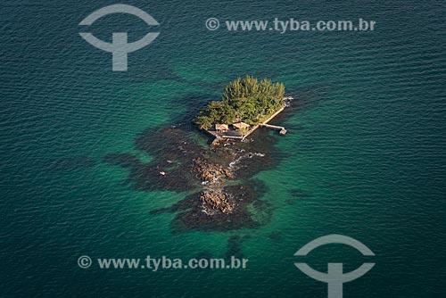 Foto aérea da Ilha da Guaxima  - Angra dos Reis - Rio de Janeiro (RJ) - Brasil