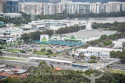 Foto aérea de loja da Leroy Merlin  - Rio de Janeiro - Rio de Janeiro (RJ) - Brasil