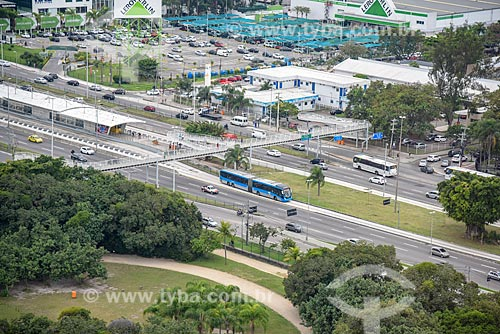 Foto aérea do Hospital Municipal Lourenço Jorge  - Rio de Janeiro - Rio de Janeiro (RJ) - Brasil