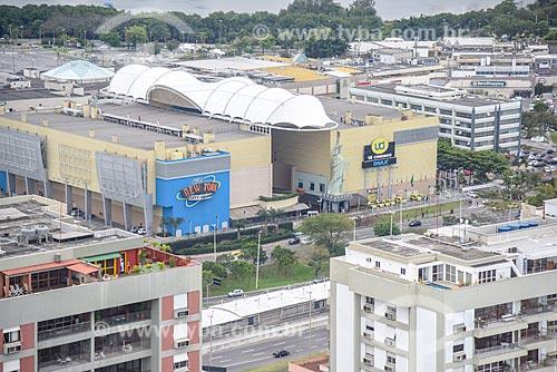 Foto aérea do Shopping New York City Center  - Rio de Janeiro - Rio de Janeiro (RJ) - Brasil