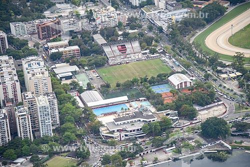 Foto aérea da sede do Clube de Regatas Flamengo  - Rio de Janeiro - Rio de Janeiro (RJ) - Brasil