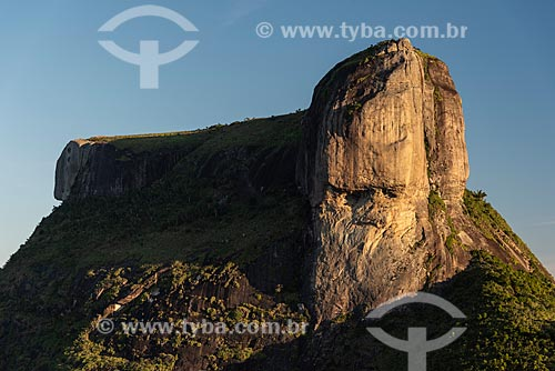 Vista da Pedra da Gávea a partir da Pedra Bonita  - Rio de Janeiro - Rio de Janeiro (RJ) - Brasil