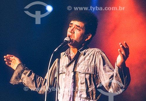 Detalhe do cantor Renato Russo  - Rio de Janeiro - Rio de Janeiro (RJ) - Brasil