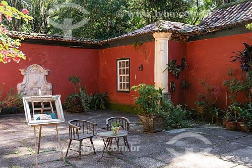 Pátio do Restaurante Os Esquilos no Parque Nacional da Tijuca  - Rio de Janeiro - Rio de Janeiro (RJ) - Brasil