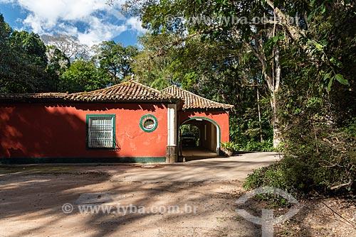 Fachada do Restaurante Os Esquilos no Parque Nacional da Tijuca  - Rio de Janeiro - Rio de Janeiro (RJ) - Brasil