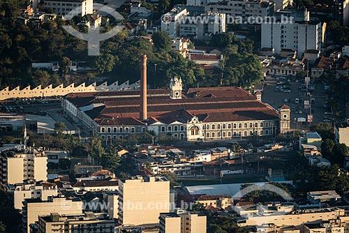 Vista da antiga Fábrica de Tecidos Confiança na Rua Maxwell - atualmente supermercado Extra  - Rio de Janeiro - Rio de Janeiro (RJ) - Brasil