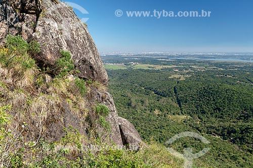Vista a partir morro Pão de Ló no Parque Estadual da Serra da Baitaca  - Quatro Barras - Paraná (PR) - Brasil