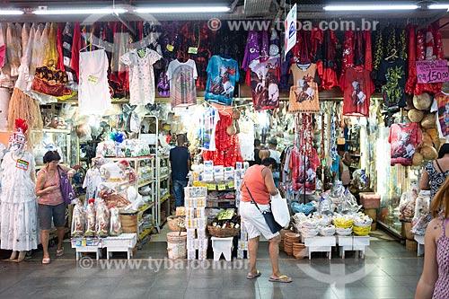 Loja no interior do Grande Mercado de Madureira (1959) - mais conhecido como Mercadão de Madureira  - Rio de Janeiro - Rio de Janeiro (RJ) - Brasil
