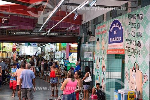 Interior do Grande Mercado de Madureira (1959) - mais conhecido como Mercadão de Madureira  - Rio de Janeiro - Rio de Janeiro (RJ) - Brasil