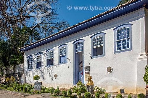Fachada da casa onde Osvaldo Cruz morou em São Luiz do Paraitinga  - São Luís do Paraitinga - São Paulo (SP) - Brasil