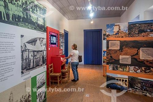 Exposição no interior da casa onde Osvaldo Cruz morou em São Luiz do Paraitinga  - São Luís do Paraitinga - São Paulo (SP) - Brasil