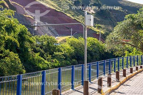 Monitoramento hidrológico de temperatura e nível do Rio Paraitinga  - São Luís do Paraitinga - São Paulo (SP) - Brasil
