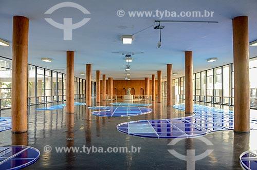 Interior do Edifício Gustavo Capanema (1945) - antigo Ministério da Educação, atual sede do Ministério da Cultura no Rio de Janeiro  - Rio de Janeiro - Rio de Janeiro (RJ) - Brasil