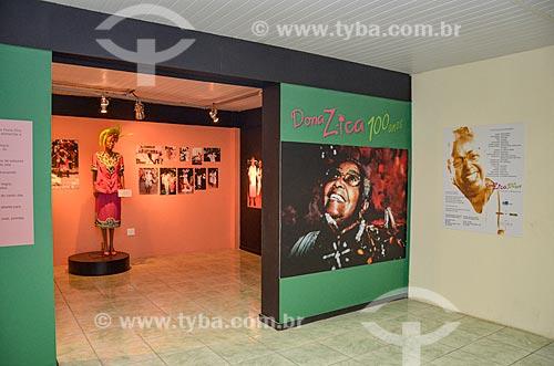 Exposição Dona Zica em exibição no Centro Cultural Cartola  - Rio de Janeiro - Rio de Janeiro (RJ) - Brasil