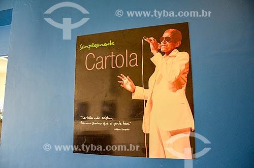 Detalhe de exibição no Centro Cultural Cartola  - Rio de Janeiro - Rio de Janeiro (RJ) - Brasil
