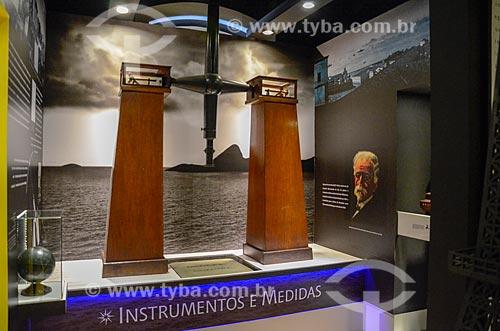 Interior do Museu de Astronomia e Ciências Afins (MAST) no Observatório Nacional  - Rio de Janeiro - Rio de Janeiro (RJ) - Brasil