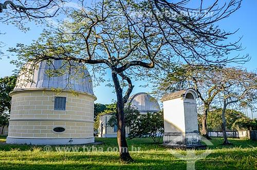 Cúpulas no Observatório Nacional  - Rio de Janeiro - Rio de Janeiro (RJ) - Brasil