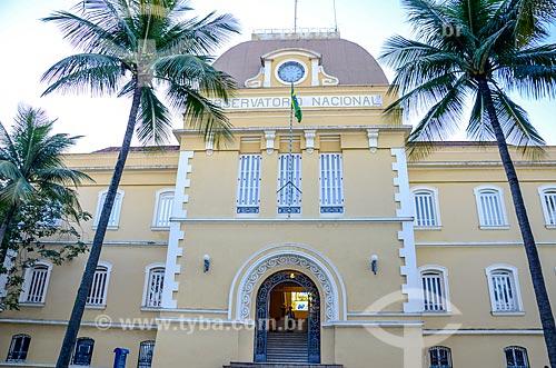 Fachada do Observatório Nacional  - Rio de Janeiro - Rio de Janeiro (RJ) - Brasil