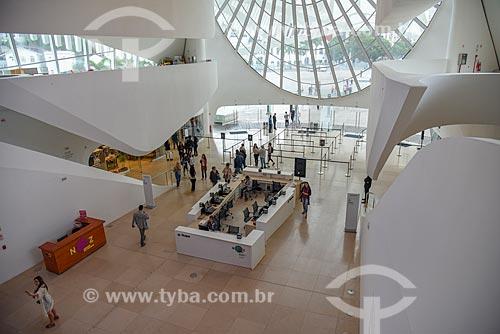 Hall de entrada do Museu do Amanhã  - Rio de Janeiro - Rio de Janeiro (RJ) - Brasil