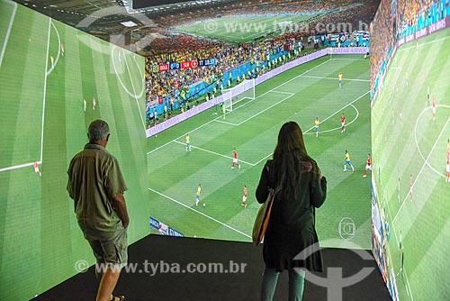 Exposição interativa no Museu do Amanhã  - Rio de Janeiro - Rio de Janeiro (RJ) - Brasil