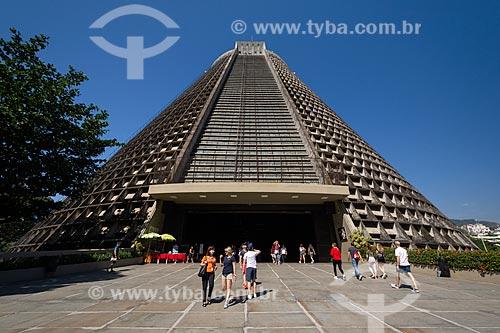Fachada da Catedral de São Sebastião do Rio de Janeiro (1979)  - Rio de Janeiro - Rio de Janeiro (RJ) - Brasil