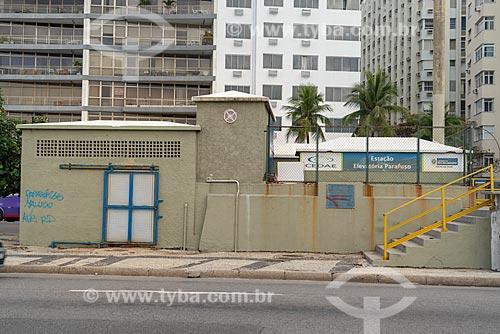 Estação Elevatória Parafuso na Avenida Atlântica  - Rio de Janeiro - Rio de Janeiro (RJ) - Brasil
