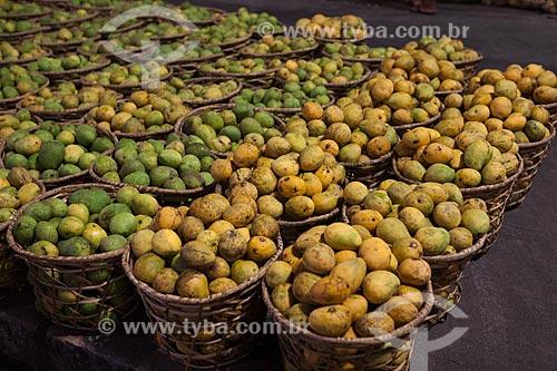 Mangas à venda no Mercado Ver-o-peso (Século XVII)  - Belém - Pará (PA) - Brasil