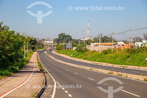 Trecho da Rodovia Constante Peruchi (SP-316)  - Rio Claro - São Paulo (SP) - Brasil