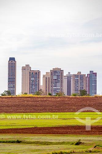Condomínios residenciais no distrito de Bonfim Paulista  - Ribeirão Preto - São Paulo (SP) - Brasil