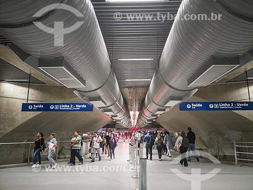 Metrô linha 5 Lilás - Estação Chácara Klabin do Metrô de São Paulo  - São Paulo - São Paulo (SP) - Brasil