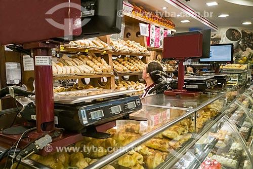 Pães e doces em padaria  - São Paulo - São Paulo (SP) - Brasil